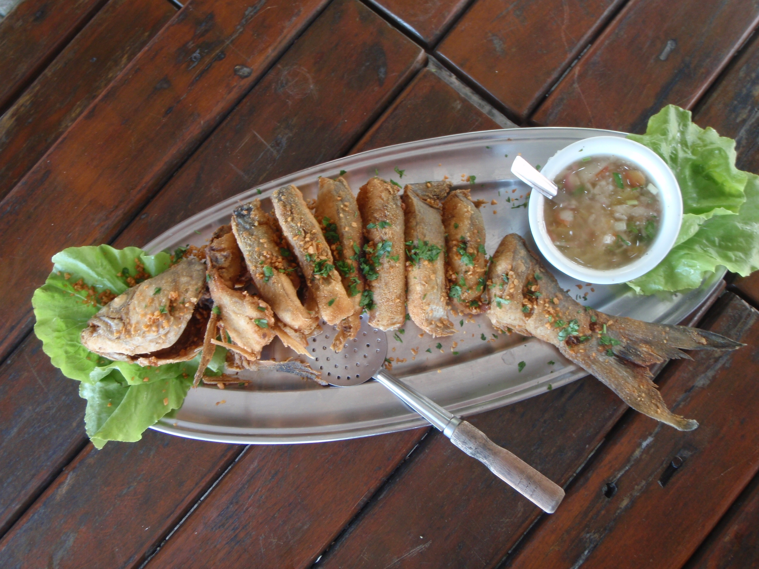 Fried Fish in Ilha Bela