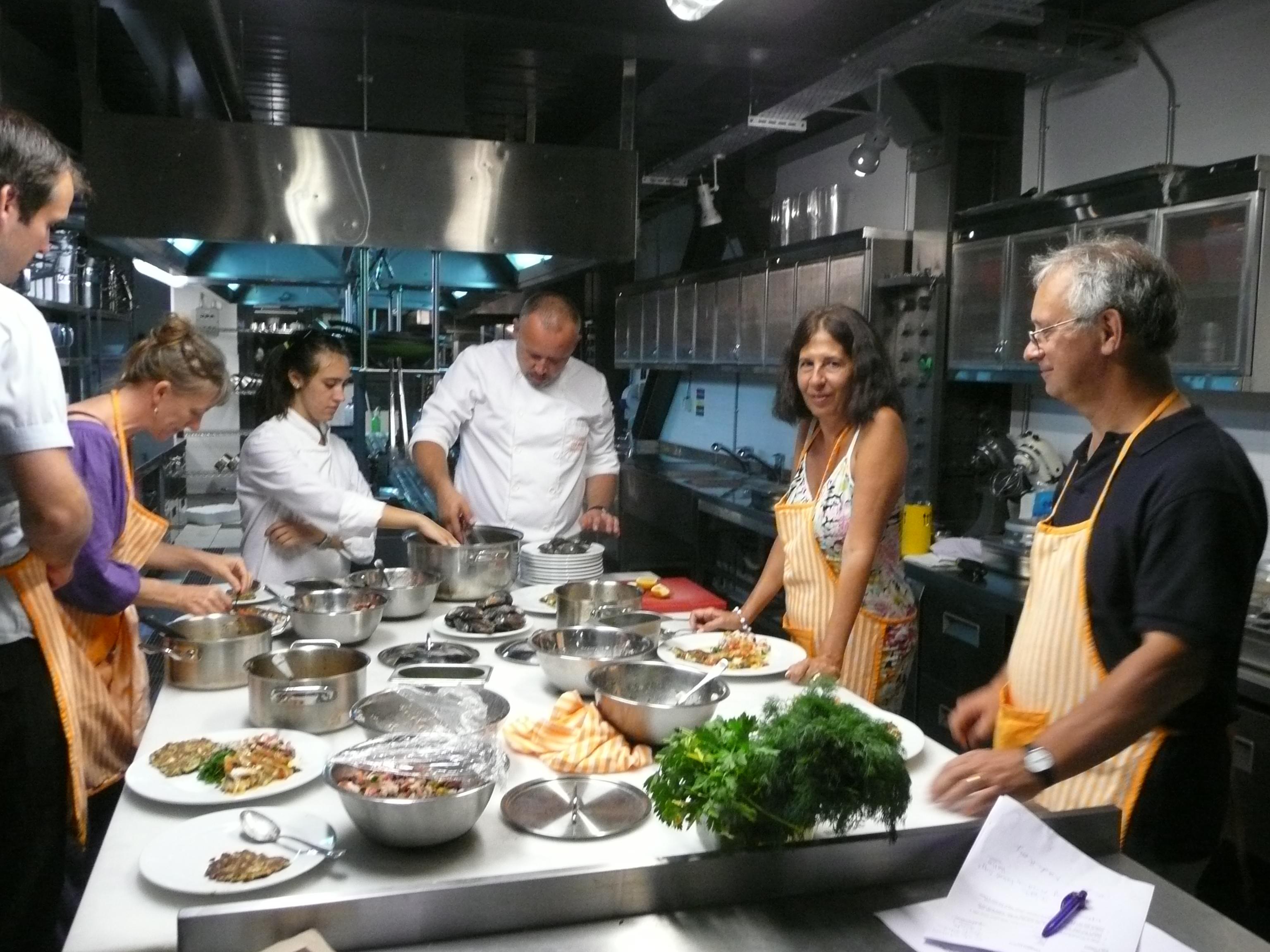 Culinary class, Istanbul Turkey